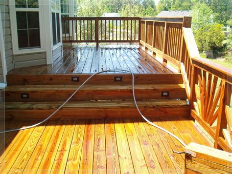 cleaner  painted wood deck vacuumcleaness