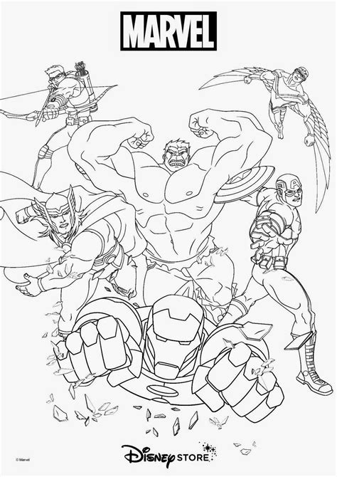 Super Heroes Coloring Pages Coloring Pages Gallery