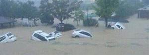 Heavy rain, flash floods and landslides hit South Korea
