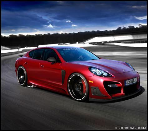 Great Porsche Panamera Wallpapers