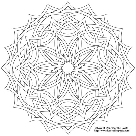 7 Best Images Of Printable Coloring Pages Celtic Knot