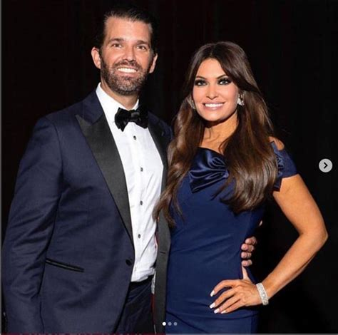 guilfoyle kimberly trump donald boyfriend jr fox worth salary hottie husband kimberley junior connection poses