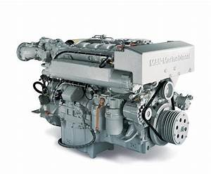 Man Marine Diesel Engine R6