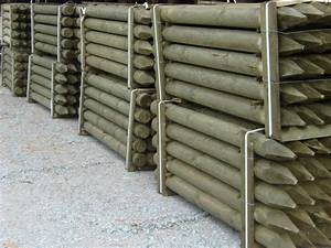 Piquet Bois Pas Cher : cloture bois trait autoclave prix discount prix pas ~ Dailycaller-alerts.com Idées de Décoration