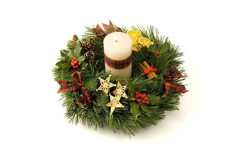 candle free stock photo an advent wreath with a white