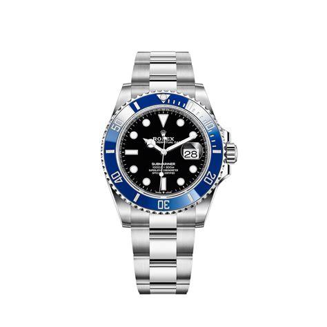 Rolex Submariner Date Watch: 18 ct white gold - M126619LB-0003