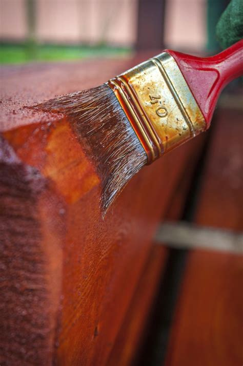 paint teak wood hunker