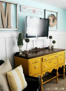 Tv Board Vintage : how to weather wood by layering paint ~ Markanthonyermac.com Haus und Dekorationen