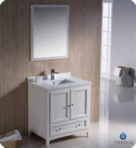 fresca fvn2030aw oxford 30 inch antique white traditional bathroom vanity fresca vanity fresca