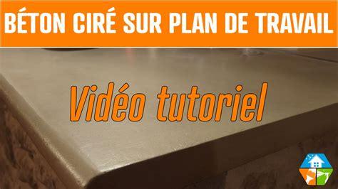 comment faire un plan de travail en beton comment faire un plan de travail en beton cire
