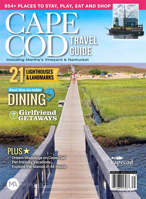 Cape Cod Chamber Publishes 2017 Travel Guide