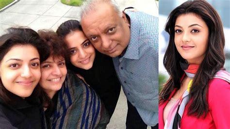 actress kajol husband photos actress kajal agarwal family photos kajal agarwal with