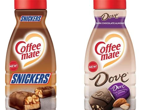 Why we stopped drinking coffee creamer. Snickers Creamer Is Here for When You Want Your Coffee to Taste Like Candy   Dark chocolate ...