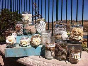 burlap lace mason jars bulk mason jar centerpieces head With rustic wedding decor wholesale