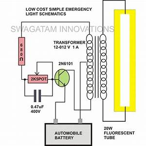 Home Cfl Inverter Circuit Diagram