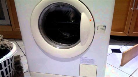 Zanussi Washing Machine Noise Youtube