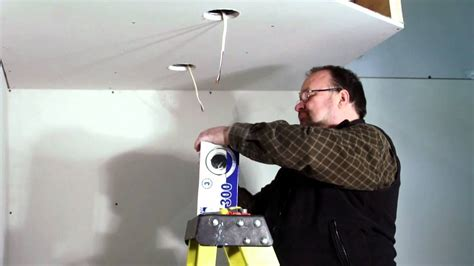 how to install can lights in an existing ceiling famous can light install images electrical circuit