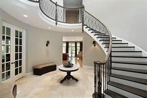 Décoration D Escalier Intérieur : 40 fantastic foyer entryways in luxury houses images ~ Nature-et-papiers.com Idées de Décoration