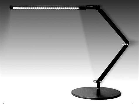 desk with led lights supersleek led desk lamp z bar by koncept koncept z bar