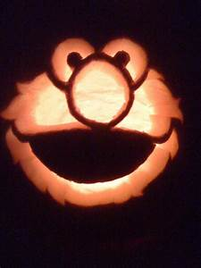 elmo pumpkin carving by makingmymarkdeviantartcom With elmo pumpkin template