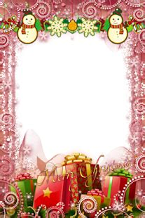 frame undangan natal