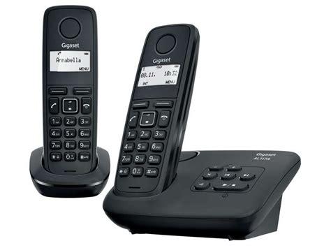 telephone fixe conforama t 233 l 233 phone fixe pack sans fil gigaset al117a duo noir vente de t 233 l 233 phone r 233 sidentiel conforama
