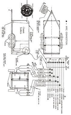 Trailer Wiring Diagram 7 Wire Circuit by Rv Travel Trailer Junction Box Wiring Diagram Trailer