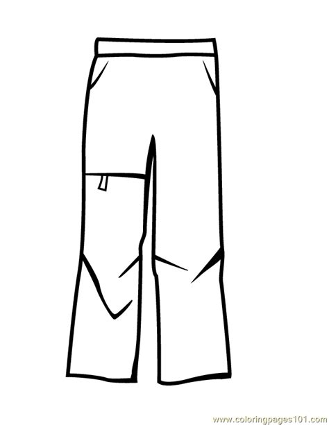 pants coloring page  pants coloring pages coloringpagescom