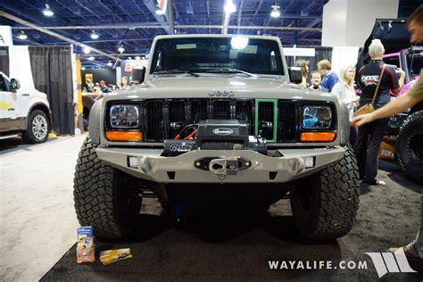sema mytop xj transformed jeep jk wrangler unlimited