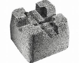 Beton Pigmente Hornbach : beton fundamentstein 22x22x17cm bei hornbach kaufen ~ Buech-reservation.com Haus und Dekorationen