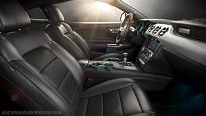 Ford Mustang 2015 Dimensions  Boot Space And Interior