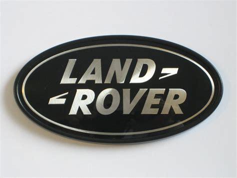 range rover logo range rover sport supercharged tailgate emblem black land