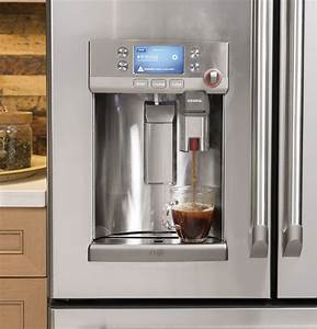 Ge Caf U00e9 Is A Refrigerator With A Keurig System Built In