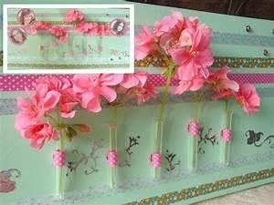 tutoriel chassis magnetique tableau magnetique floral With affiche chambre bébé avec fleurs artificielles belgique