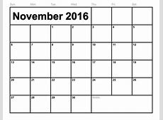 No Frills Calendar Calendar Template 2018