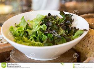 Bol A Salade : bol de laitue de salade verte au restaurant asiatique ~ Teatrodelosmanantiales.com Idées de Décoration