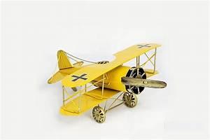 2016 Vintage Model Airplane Figurines Handmade Iron Crafts
