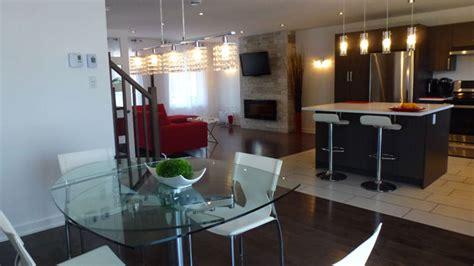 cuisine ouverte sur salle à manger photo cynthia aire ouverte salle à manger cuisine et