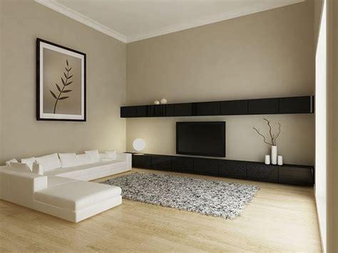 moderne wandfarben ideen fuers wohnzimmer