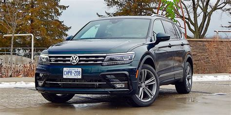 suv review  volkswagen tiguan highline   driving
