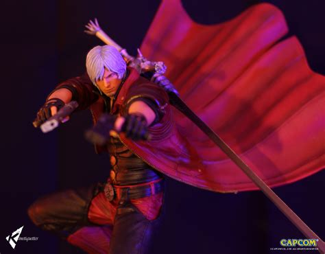 may cry sons of sparda diorama statues by