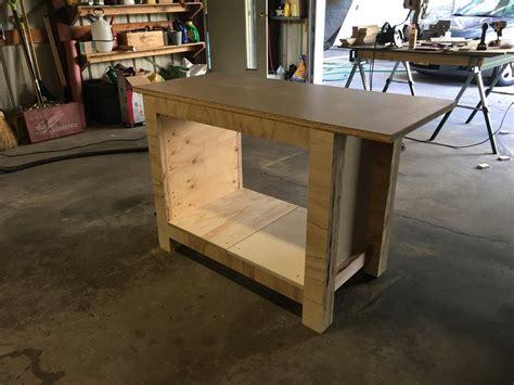 small plywood workbench  dakremer  lumberjockscom