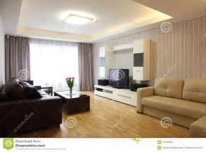 Salle De Sjour Moderne Photo Stock Image Du Appartement
