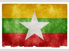 Myanmar Grunge Flag HD Wallpaper Wide Screen Wallpaper