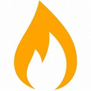 Free orange gas icon - Download orange gas icon