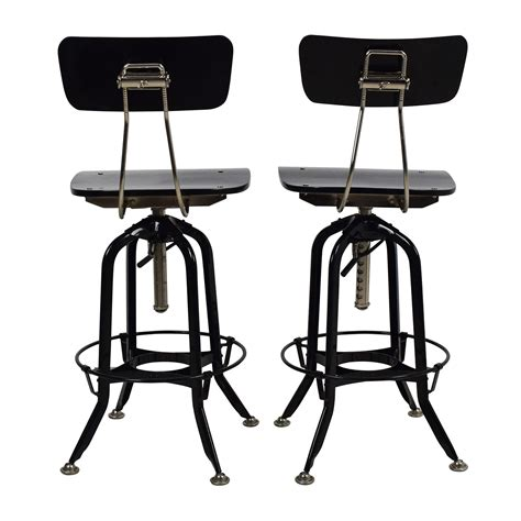 Vintage Toledo Bar Chair by 71 Restoration Hardware Restoration Hardware