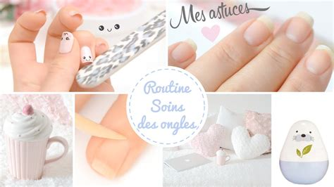 routine ongles soin des mains