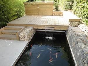 notre jardin dexposition permanente rebeyrol With bassin de terrasse en bois