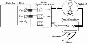 Skybell Doorbell Chime  U0026 Component Wiring Diagrams For