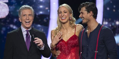 dancing   stars recap nikki glaser cracked